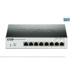 Switch D-Link DGS-1100-08P 8 puertos Gigabit Smart POE
