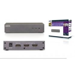 Divisor HDMI 1 entrada a 2 salidas 4K 3D