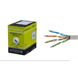 Bobina de cable UTP Cat.6 gris 100m