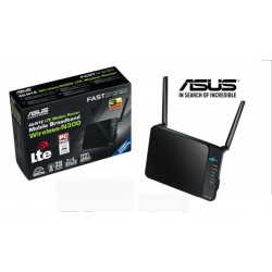 Modem Router Wireless ASUS 4G-N12 LTE 2600/UMTS 2.4Ghz 300Mbps 5ant.(3 int.)