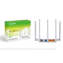 Router wireless TP-Link Archer C60 5 antenas Dual Band 450+867Mbps