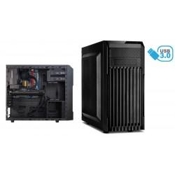 Caja ATX gaming 2xUSB 3.0 negra