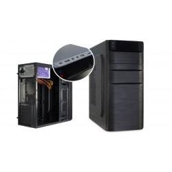 Caja ATX 2xUSB 2.0 con fuente 500W negra