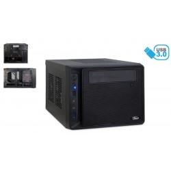 """Caja mini-ITX 2x2.5"""", 3x3.5"""", 2xUSB 3.0 negra"""