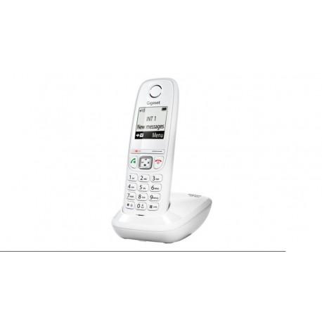 Teléfono inalámbrico Gigaset AS405 LCD blanco