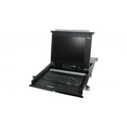 """Conmutador automático 19"""" PS2 LCD 15"""""""