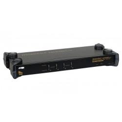 Conmutador automático USB o PS/2 de 4 ó 8 Pc's a 1 puesto 19''