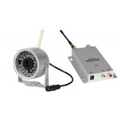 Kit 4 x cámaras externas Wireless 2.4 GHz + receptor