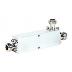 Acoplador direccional Phasak 2 antenas a 1 toma de 25 dB