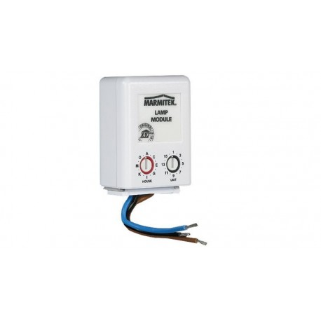 Módulo de pared LM12W lámpara/atenuador sin plug-in On/Off/dim X-10