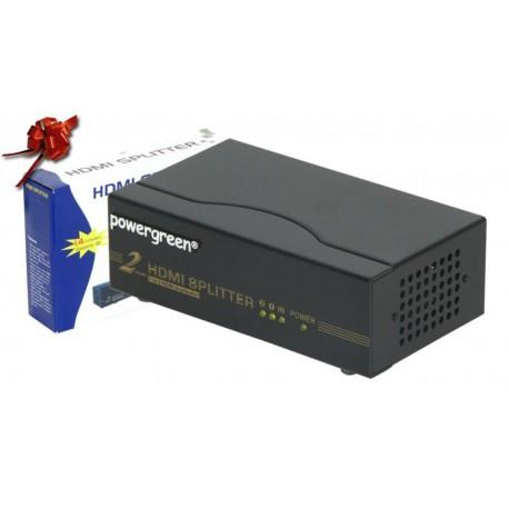 Multiplicador HDMI 1.4 2/8 puertos - 2