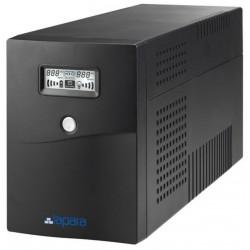 SAI Lapara 1500VA / 900W, in-LINE, 2x Schuko, 2x IEC, USB, RJ11, LCD