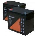 Batería para SAI de alta capacidad de 12V y 55Ah