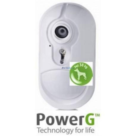 Visonic NEXT CAM K9 - sensor PIR con cámara a color, inmunidad mascotas hasta 38Kg