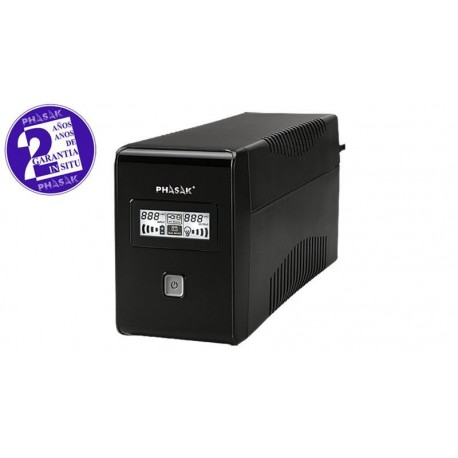 SAI PHASAK LCD USB+RJ - 850 VA