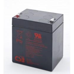 Batería AGM de 12V y 4.5Ah CSB GP1245F2