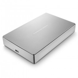 LaCie STFD4000400 - LaCie STFD4000400 4000GB Plata disco duro externo
