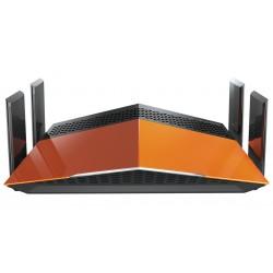 D-Link DIR-869 - D-Link AC1900 EXO Dual-band (2.4 GHz / 5 GHz) Gigabit Ethernet Negro, Naranja