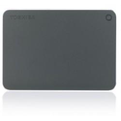 Toshiba HDTW110EB3AA - Toshiba Canvio Premium 1TB 1000GB Gris, Metálico