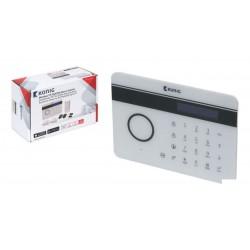 Alarma GSM/PSTN con detector de movimento y 2 detectores de puerta/ventana
