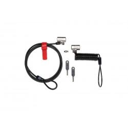 Kensington K64661WW - Kensington K64661WW Flat key Negro cable antirrobo