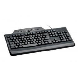 Kensington K64408ESA - Kensington Teclado con cable Pro Fit™ Media