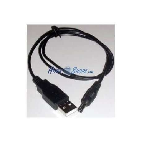 Cable de alimentación USB universal para PDA PSP DC 4,0mm