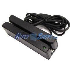Lector Tarjetas Magnéticas Pista 1+2+3 (USB)