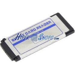 Lector de tarjeta Smart PC/SC ISO-7816 EMV ESC1 interno expresscard