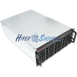 Caja rack19 IPC ATX 4U F650mm 20xSAS SATA2-HDD RackMatic