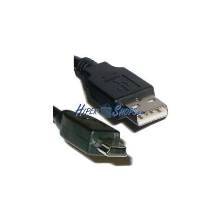 Cable USB 2.0 (AM/MiniUSB5pin-M Tipo B) 5m