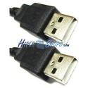 Cable USB 2.0 (AM/AM) 0.2m