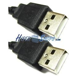 Cable USB 2.0 (AM/AM) 1.8m
