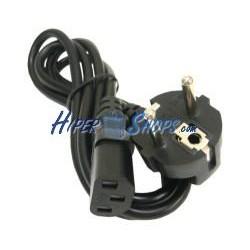 Cable Alimentación IEC-60320 1,8 m (C13 / SCHUKO-M)