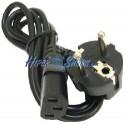 Cable Alimentación IEC-60320 10 m (C13 / SCHUKO-M)