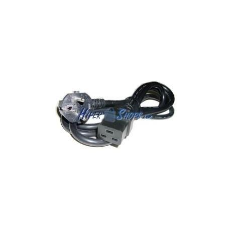 Cable Alimentación IEC-60320 1.8m (C19 / SCHUKO-M)