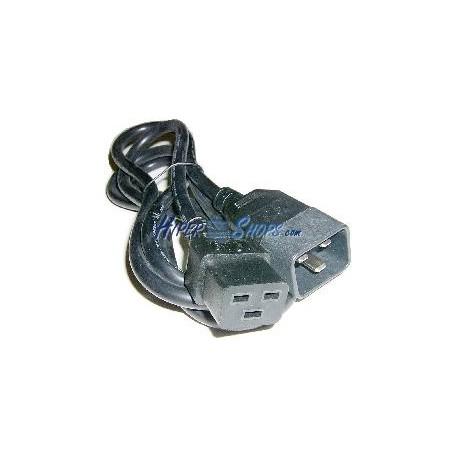 Cable Alimentación IEC-60320 1.8m (C19 / C20)