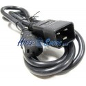 Cable Alimentación IEC-60320 1.8m (C13 / C20)