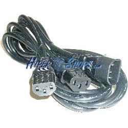 Cable Alimentación IEC-60320 1.8m (2xC13 / 1xC14)