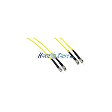 Cable de fibra óptica FC a FC monomodo duplex 9/125 de 1 m