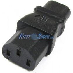 Adaptador de conector IEC-60320 C13 a C8