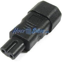 Adaptador de conector IEC-60320 C7 a C14