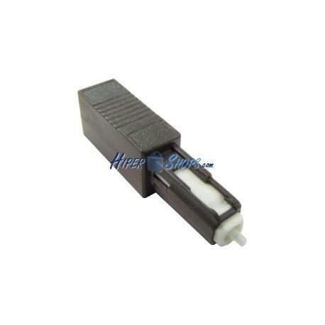 Atenuador de fibra óptica MU/PC monomodo 10dB