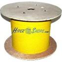 Bobina de fibra óptica 9/125 monomodo 3.0 mm simplex de 1000 m
