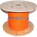 Bobina de fibra óptica 62.5/125 multimodo 2.0 mm duplex de 300 m