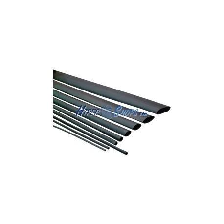 Tubo termoretráctil negro de 3,2mm en bobina de 3m