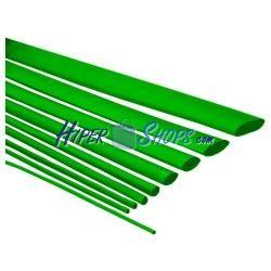 Tubo termoretráctil verde de 4,8mm en bobina de 3m