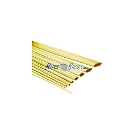 Tubo termoretráctil amarillo de 2,4mm en bobina de 3m