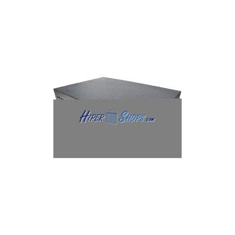 Patch Panel de fibra óptica 2U negro extraible de 48 FC