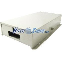 Caja distribuidora de fibra óptica metálica beige de 24 FO tipo 3